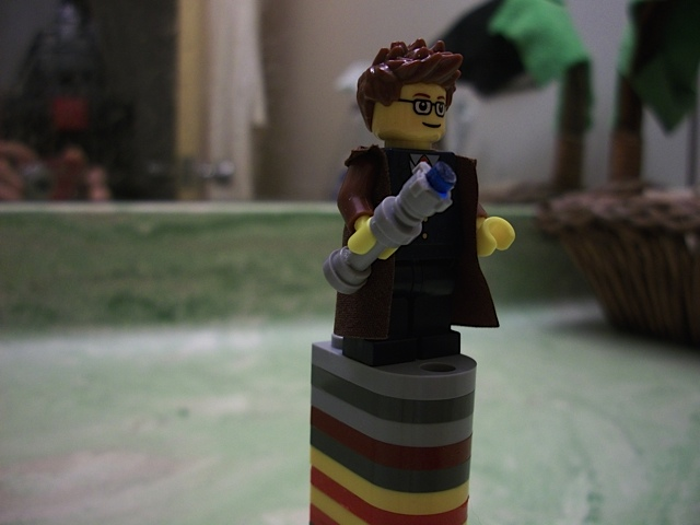 A LEGO version of Dr. Who
