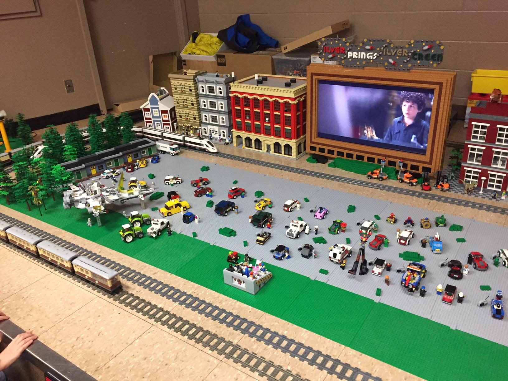 Silver Springs Lego Show Calgary Lego Train Club
