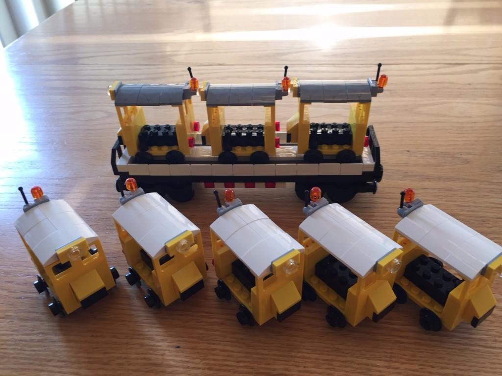 Fairmont MT-14 Speeders & Rolling Stock